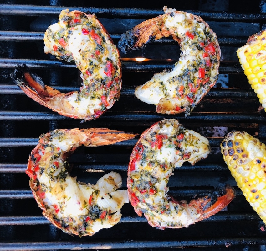Grilled Lobster Tails with Citrus-Infused Butter