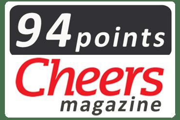 Cheers Magazine - 94 points