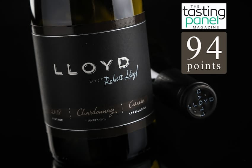 2018 Carneros Chardonnay Scores 94 Points with Tasting Panel Magazine